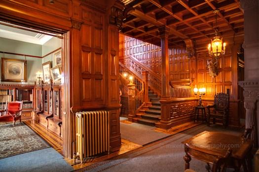 interno del Craigdarroch Castle