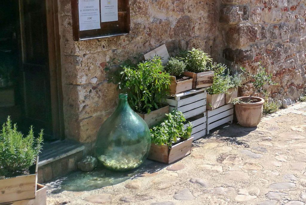 winebar a Monteriggioni