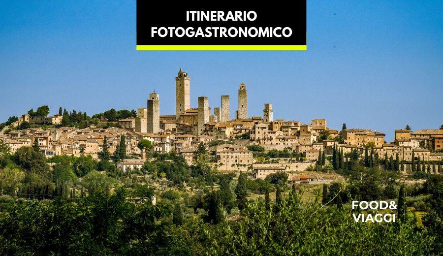 itinerario fotogastronomico a san gimignano e monteriggioni
