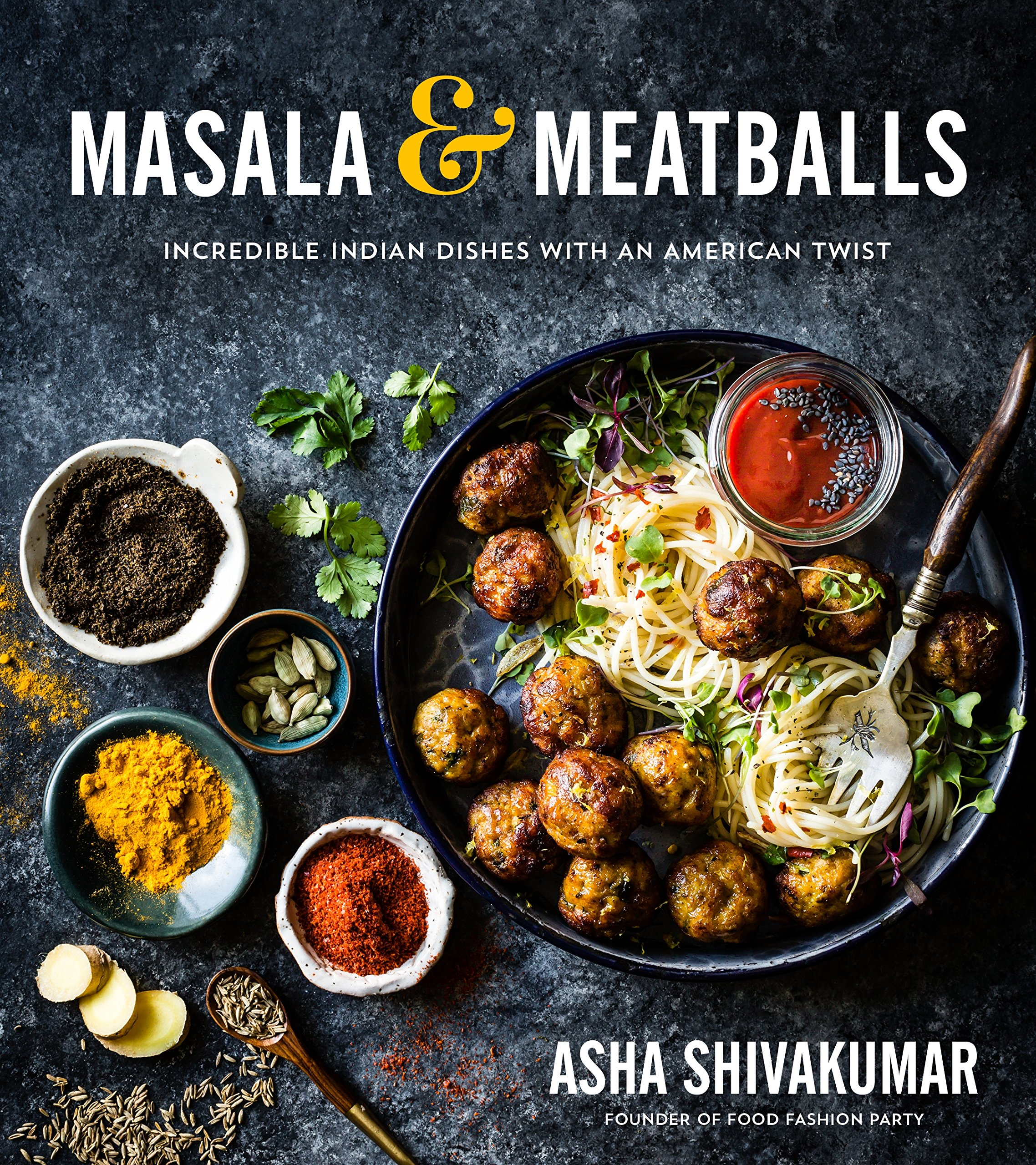 Masala and Meatballs #Indiancookbook #cookbook