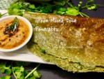 Green Moong Dal Instant Dosa/Chilla