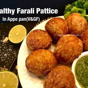 Healthy Farali Pattice in Appe Pan