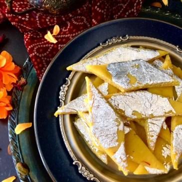 Badam Katli/Almond Flour Barfi in 3 minutes
