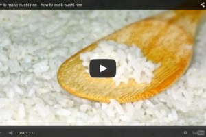 How to make Sushi Rice from Home