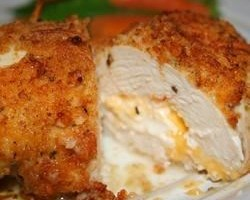 Garlic-Lemon Double Stuffed Chicken
