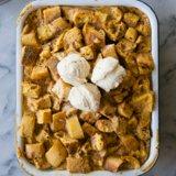 Pumpkin Spice Bread Pudding-foodflag