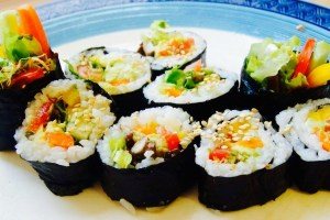 Vegan Sushi Recipe to Promote Blood Health