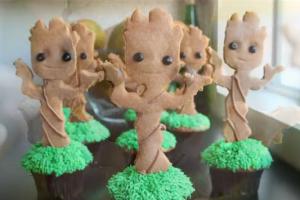 Groot Cupcakes