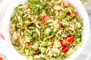 Summer Greek Quinoa Salad