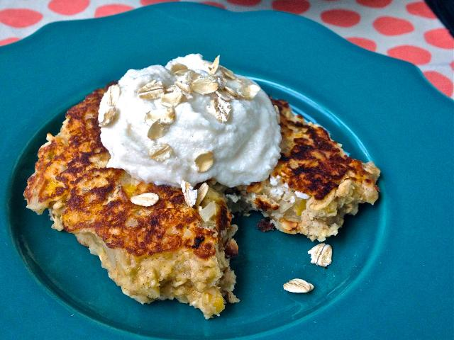BREAKFAST RECIPES Oatmeal griddle cakes