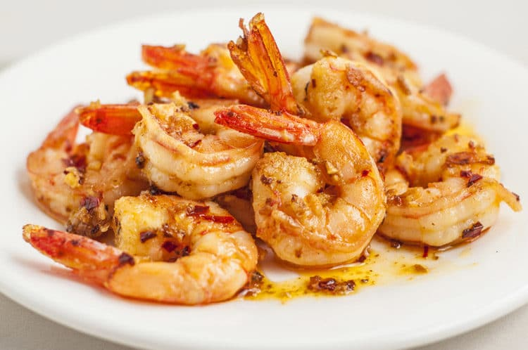 15-Minute Spicy Garlic Ginger Shrimp