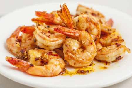 15-Minute Spicy Garlic Ginger Shrimp