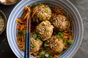 Whole30 Orange Chicken Meatballs