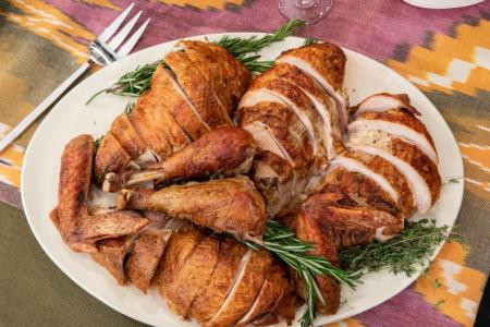Dry-Brined Fried Turkey