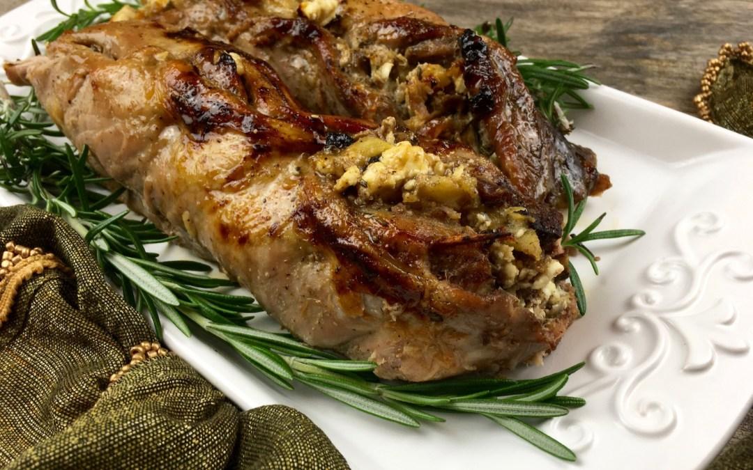 Apple and Feta-Stuffed Pork Tenderloin
