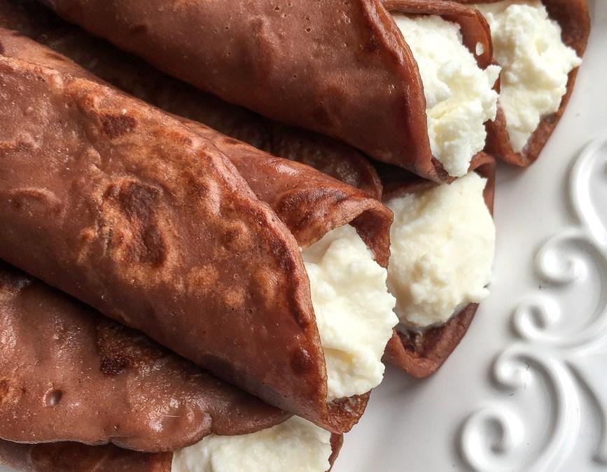 Necci: Tuscan Chestnut Flour Pancakes