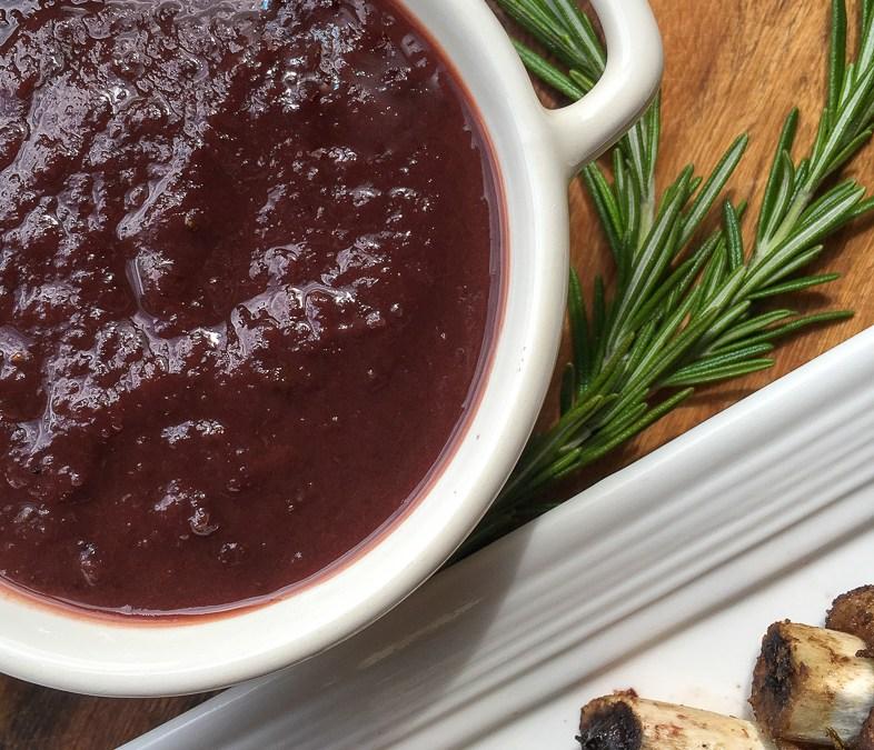 Homemade  Dark  Cherry  BBQ  Sauce