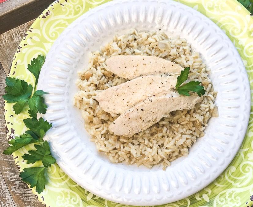 Baked Chicken & Rice Casserole