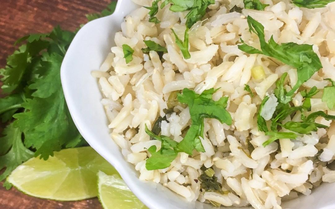 Instant Pot® Cilantro-Lime Rice