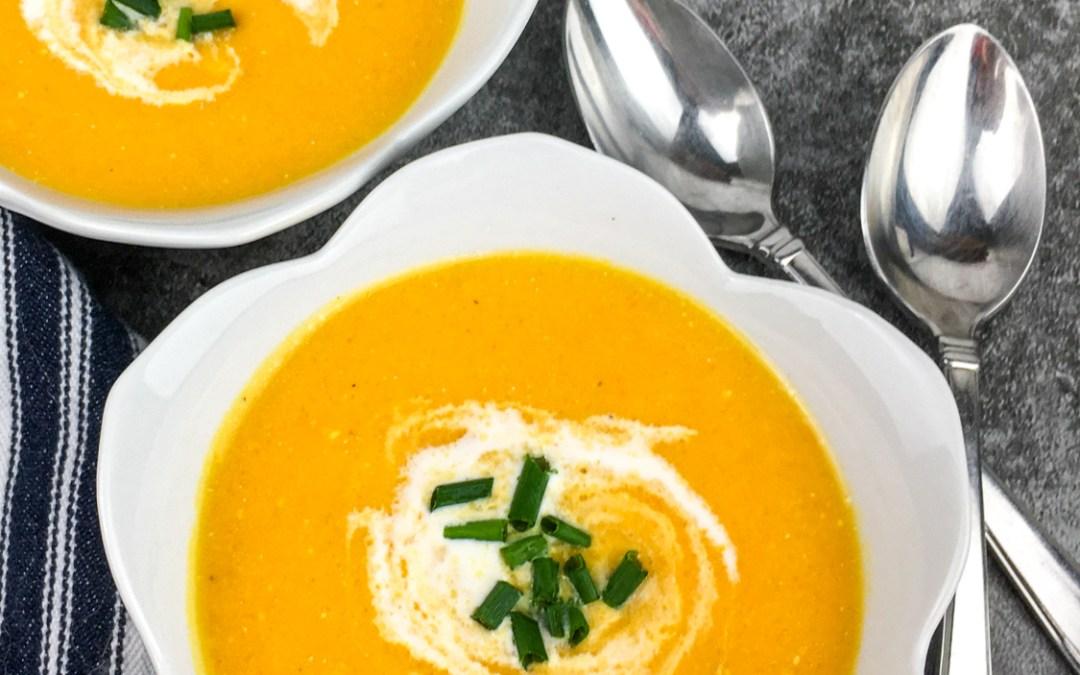 Creamy Golden Gazpacho Soup