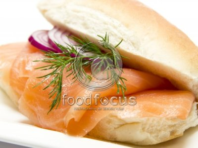 Broodje Zalm - Foodfocus Photography