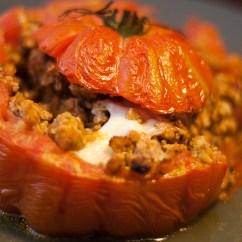 Kitchen Aid Contemporary Designs Tomates Cœur De Bœuf Farcies Au Veau Et Mozzarella - Food ...
