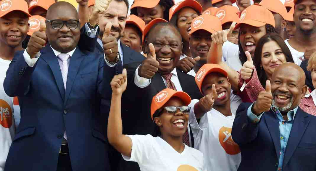 President Cyril Ramaphosa launched the YES programme in 2018, which helps young people to gain skills and work experience.