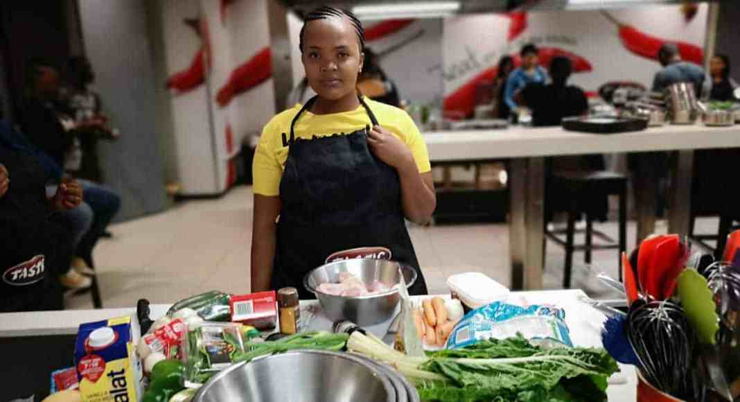 Kamogelo Maleka says she wants to combine her love for children and cooking.