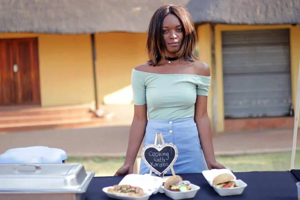 Through her catering and décor businesses chef Karabo Phiri wants to create job opportunities for more people.