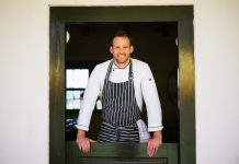 Chef Hennie Nel (34) believes it takes care and passion to create the perfect dish.