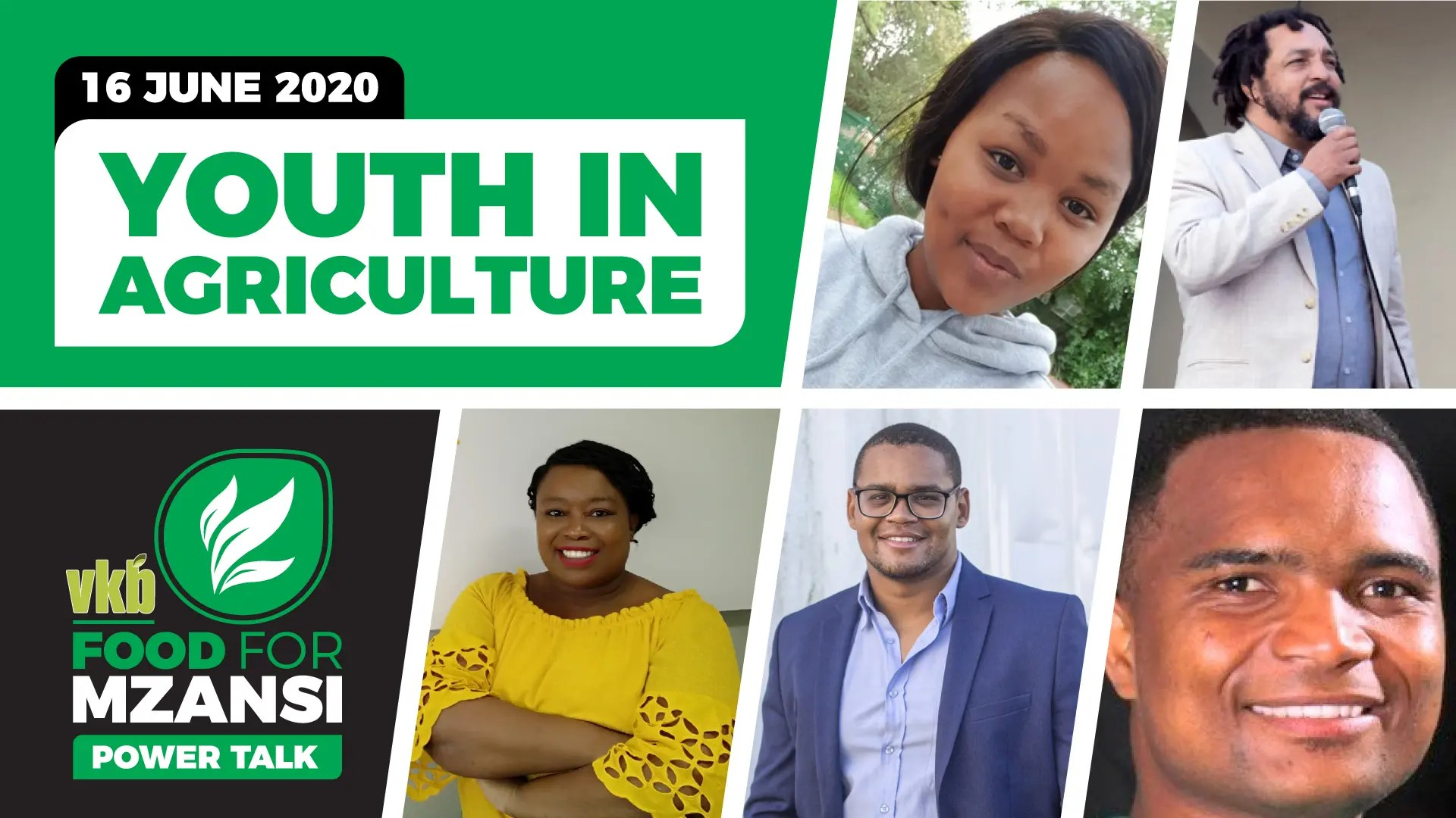 Join the Food For Mzansi National Youth Day webinar featuring some of the brightest young minds in South African agriculture.