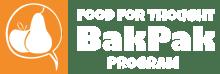 Food for Thought Bak Pak Logo