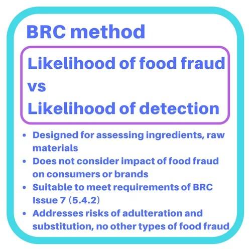 Vulnerability assessment methods food fraud vulnerability assessment food fraud vulnerability assessment brc maxwellsz