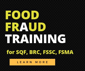Awesome food fraud prevention training for food safety professionals