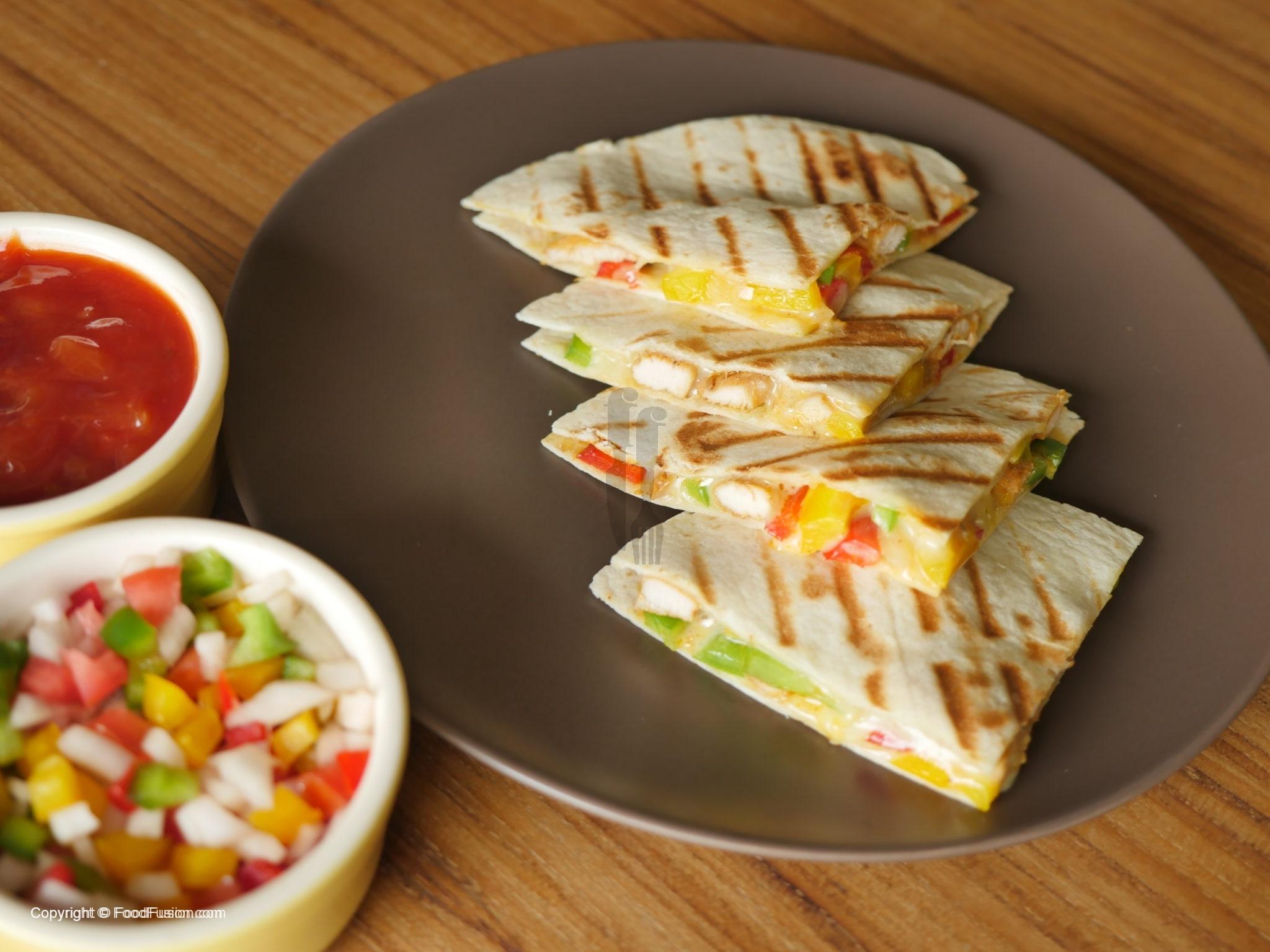 Chicken Quesadillas Recipe By Food Fusion Food Fusion