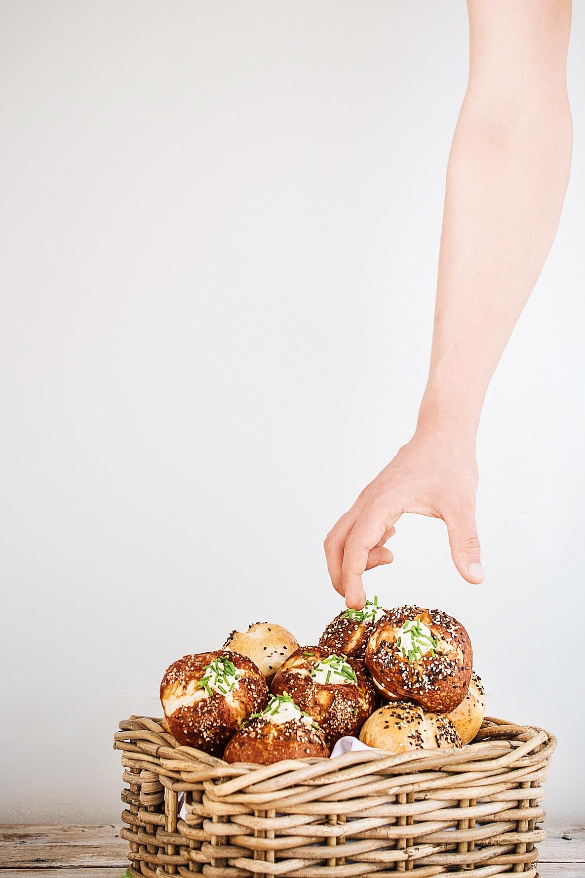 Pretzel Bagel Donuts