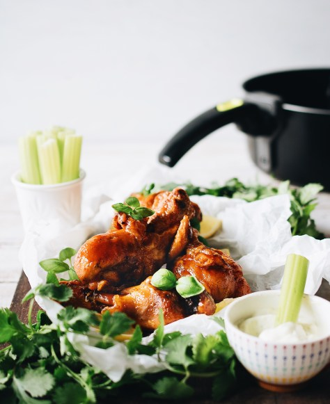 Spicy Fried Chicken Drumsticks