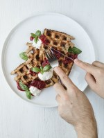 Lemon Ricotta All-Bran® Cereal Waffles
