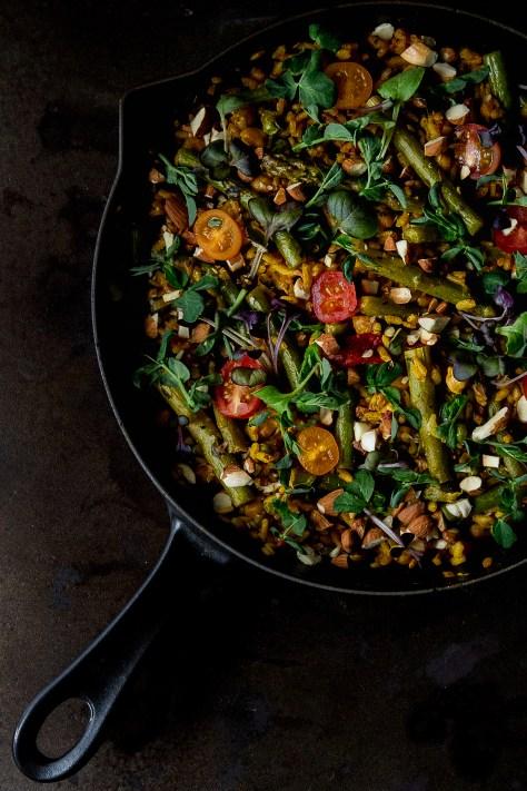 VEGGIE PAELLA - THE FOOD GAYS
