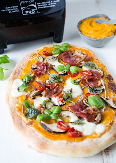 THE FOOD GAYS - Butternut Squash Pizza with Prosciutto and Mushrooms