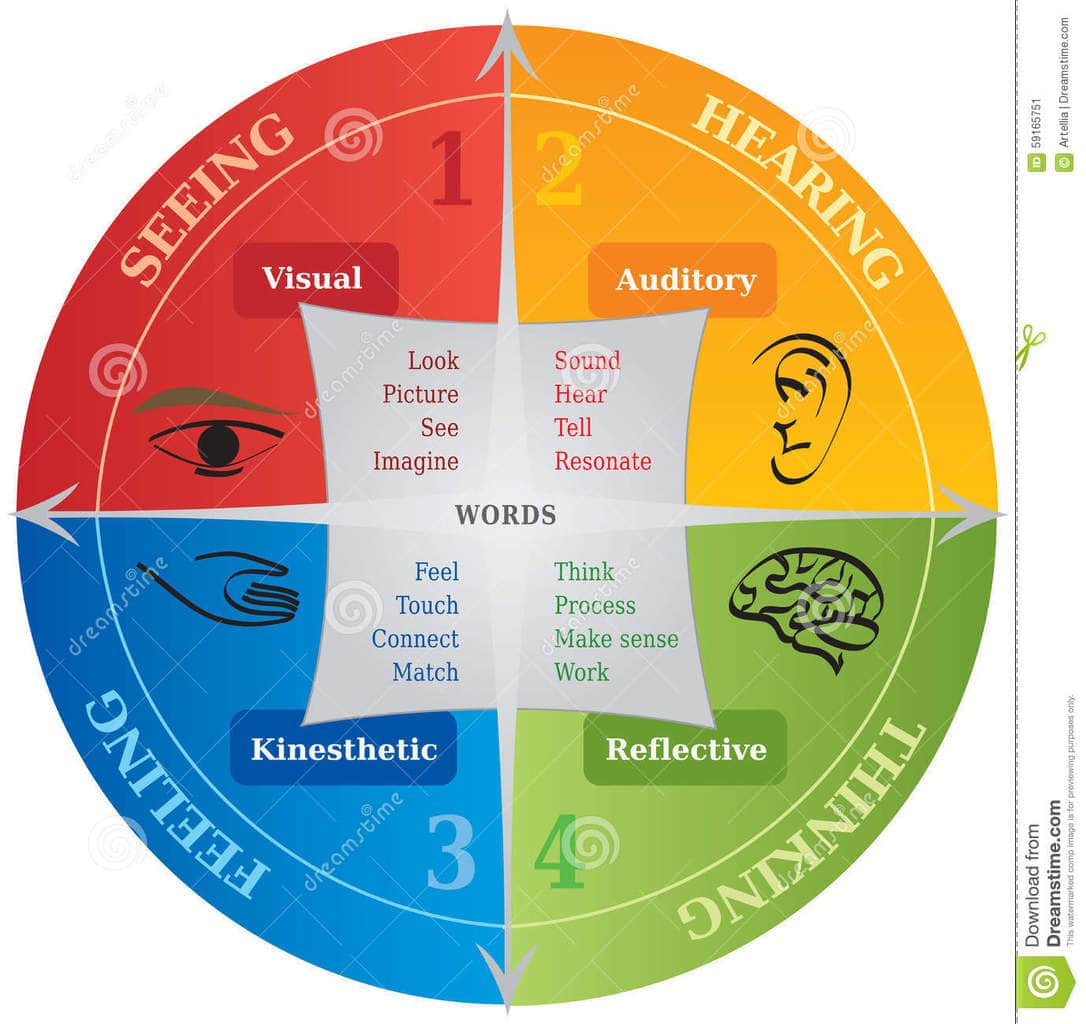 hight resolution of learning communication styles diagram life coaching nlp 59165751