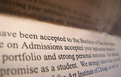 Acceptance Letter - fund college