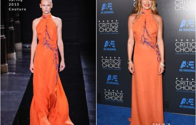Cat Deeley Orange Azzuro - RCFA