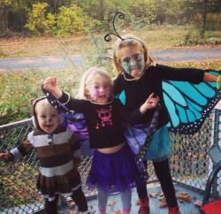 DIY Kids Halloween Costumes - Butterfly