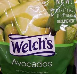 Review of Welch's Frozen Avocados