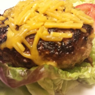 Healthy Cheeseburger in Paradise