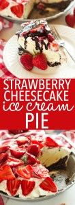 strawberry-cheesecake-ice-cream-pie-pinterest-collage