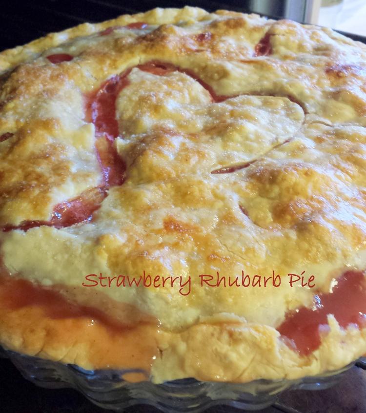 401 My Hubby's Favorite - Strawberry Rhubarb Pie