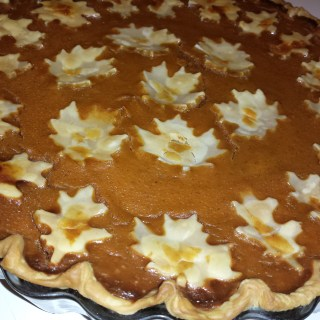Momma's Famous Pumpkin Pie