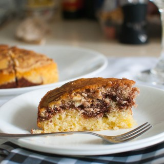 Cold Oven Cream Cheese Marble Pound Cake